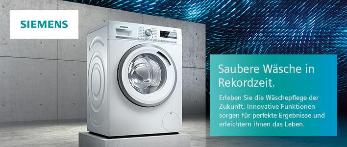 Siemens Waschmaschinen günstig online kaufen | SATURN